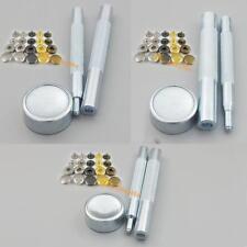 """Snap Fastener rápida Remache Botón de Metal con herramienta 10MM 12MM 15MM 3/8"""" 1/2"""" 5/8"""""""