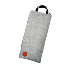 T Grey Felt Travel Carry Storage Bag Package Dust Case for Mechanical Keyboard