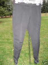 Vintage Black 1950s Winter Stirrup Ski Pants Rockabilly High Waist Slacks Retro