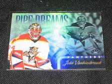 JOHN VANBIESBROUCK NHL LEGEND LIMITED EDITION VINTAGE HOCKEY INSERT CARD #/2500