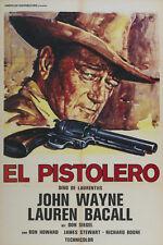 The Shootist (1976) John Wayne Lauren Bacall movie poster print 2