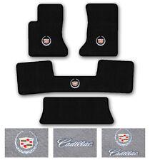 3-Row Carpet Floor Mat Set for 2004-2009 Cadillac SRX - Choose Logo & Color