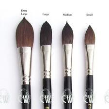 Pro Arte Artists Kazan Squirrel Wash Brushes. Series 50 Watercolour Mop Brush.