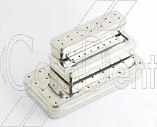 Perforé Instrument Stockage Sterilisateur Boite Pour Medical Chirurgical