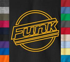 FUNK 100% Ringspun Cotton T-Shirt Parliament Funkadelic James Brown Retro Tee