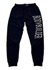 Men's Bodybuilder Jogger Training pants sweatpants gym fitness workout beast