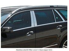 Mercedes W212 E Class Estate Station Wagon Chrome B Pillar Trim Covers