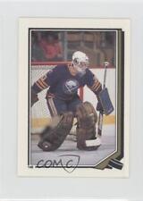 1987-88 O-Pee-Chee Album Stickers #148 Tom Barrasso Buffalo Sabres Hockey Card