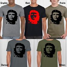 CHE GUEVARA MENS T-SHIRT REVOLUTION CUBA REBEL CLASSIC RETRO DESIGN TOP