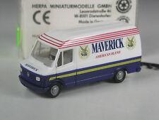 RARO: Herpa Austria # 41805 MERCEDES 207 D Maverick American Blend in scatola originale