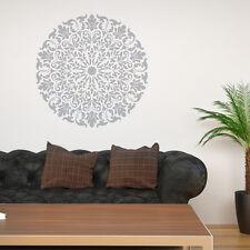 Mandala Stencil Tribal Pattern Surat for DIY Wall Decor Modern Home Stencils