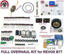 """Revox B77 complete """"Full Monty"""" service overhaul kit"""