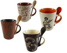 Set Tazze Tazza Caffè con Cucchiaio Caffè Design LATTE MACCHIATO CAFFE 'expresso Cappuccino