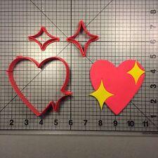 Heart Emoji 100 Cookie Cutter Set