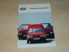 34515) Nissan Urvan Vanette Sunny Prospekt 1992