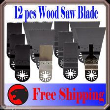 12 Wood Oscillating Multi Tool Saw For Blade Fein Multimaster Dremel Multi-Max