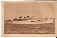 Naviguation PAQUET  paquebot CHELLA  Bateau coule par les Allemands a MARSEILLE