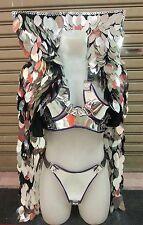 Da NeeNa M775 Iron Fairy Showgirl Pageant Vegas Stage Dance Jacket XS-XL