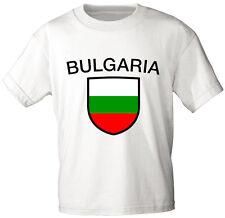 Laender Kinder T-Shirt  Gr. 80 - 152 Aufdruck Bulgarien  BULGARIA 76032