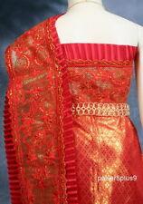 Lace Sabai Girl Kid Shawl Dress Thai Traditional Costume Wedding School Fancy