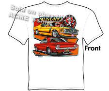 Mustang Shirts Ford T Shirt Automotive Shirts 1965 1966 1967 1968 1969 1970 Tee