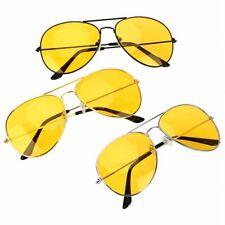 Anti-glare Polarizer Sunglasses Copper Alloy Car Drivers Night Vision Goggles