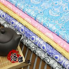 Brocade Jacquard silk Cloth Chinese Dress kimono Clothing fabrics Pipa Flower
