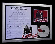 U2 Can't Make It On Own LTD NOD QUALITY CD FRAMED DISPLAY+EXPRESS GLOBAL SHIP!!