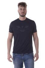 T-shirt Maglietta Armani Jeans AJ T-Shirt Sweatshirt % Uomo Blu 3Y6T346JPRZ-1579