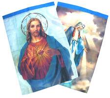 Bandiera Cristiana di Gesù e la Madonna