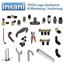 TECE TUBO logo, arco, angolo, frizione, transizione, raccordo a T, isolamento, 16,20,25,32,