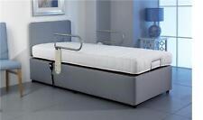VAT FREE Grabrail Range Single 3ft Adjustable Electric Bed Free Installation