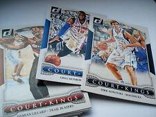 """2014-15 Panini Donruss nba Court-Kings cards mapas para su selección """"to Choose""""!!!"""