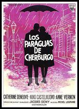 Les Parapluies De Cherbourg - The Umbrellas Of Cherbourg 5  Posters Musicals