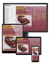 Land Rover Discovery Diesel (Nov 1998-Jul 2004) S to 04 Haynes Online Manual