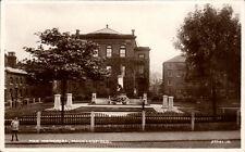 Macclesfield. War Memorial by Garlick / Valentine's.