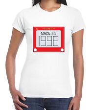 MADE in 1996 21ST Compleanno Da Donna T-Shirt-Regalo-taglie S a XL