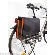 GoTravel Cycling Bike Bicycle Rear Back Pannier Laptop File Bag Rain Dust Cover