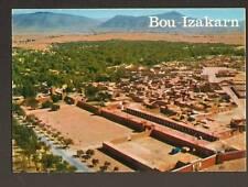 BOU-IZAKARN (MAROC) VILLAS & Campagne vue aérienne 1977