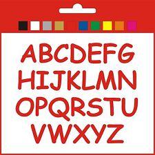 Big Sticky Letters Full Alphabet Set 50/60/70mm signs banner shop windows CS