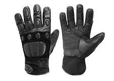 Gloves MD. Police II guantes de cuero función guantes negro S-XXL
