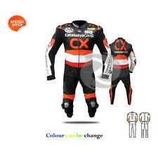 Deportes Bicicleta de una sola pieza traje cuero Carreras marchas moto prenda