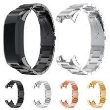 1 Stainless Steel Accessory Watch Band Strap Metal Band For Garmin VIVOsmart HR!