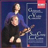 Goldmark - Violin Concerto · Prometheus-Overture / Sarah Chang · Conlon, , Good