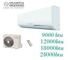 Condizionatore/Climatizzatore 9-12-18-24000BTU OLIMPIA SPLENDID - NEXYA S4 E INV