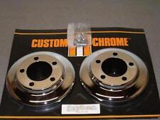 Pair of Chrome Hub Covers for '78-'83 FXR-NEW!