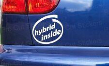 Hybrid inside Toyota Starlet GT Turbo Glanza V Vinyl Die Cut Stickers Decals JDM