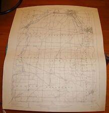1908 Usgs Topo Map/Warren Quadrangle/Oh