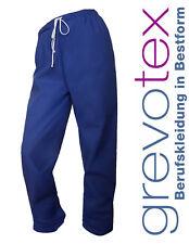 OP-Hose Unisex blau OP-Kleidung Krankenhauskleidung Arzthose Grevotex