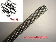 11,5 mm Cuerda de acero del torno Unimog Venta por metro Greifzug BW cincado DIN